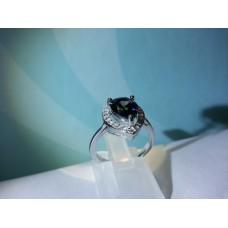Капковидният сребърен пръстен