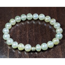 Гривна с висококачествени естествени перли